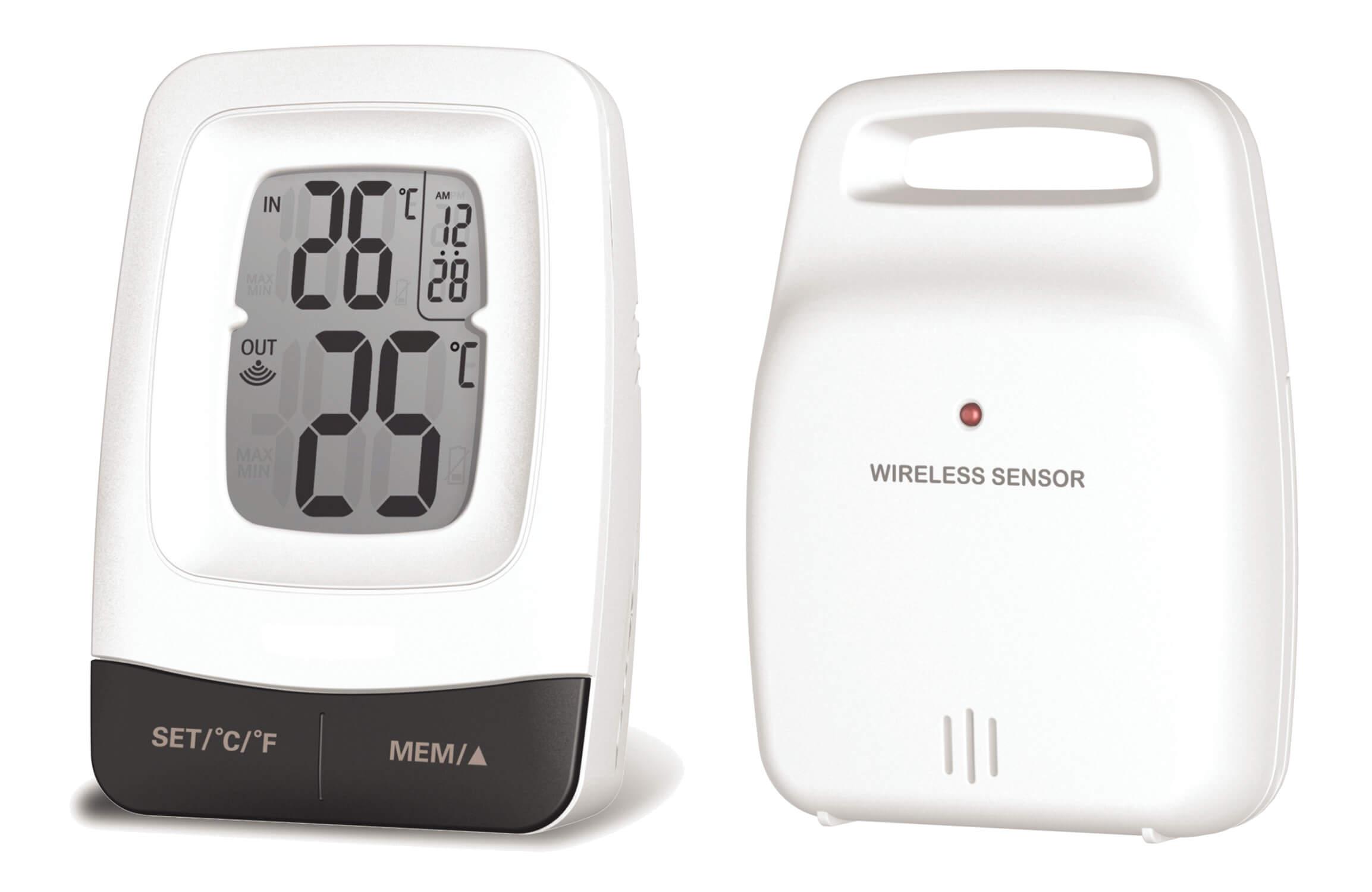 Vignette du produit : Thermomètre mini-maxi Int/Ext