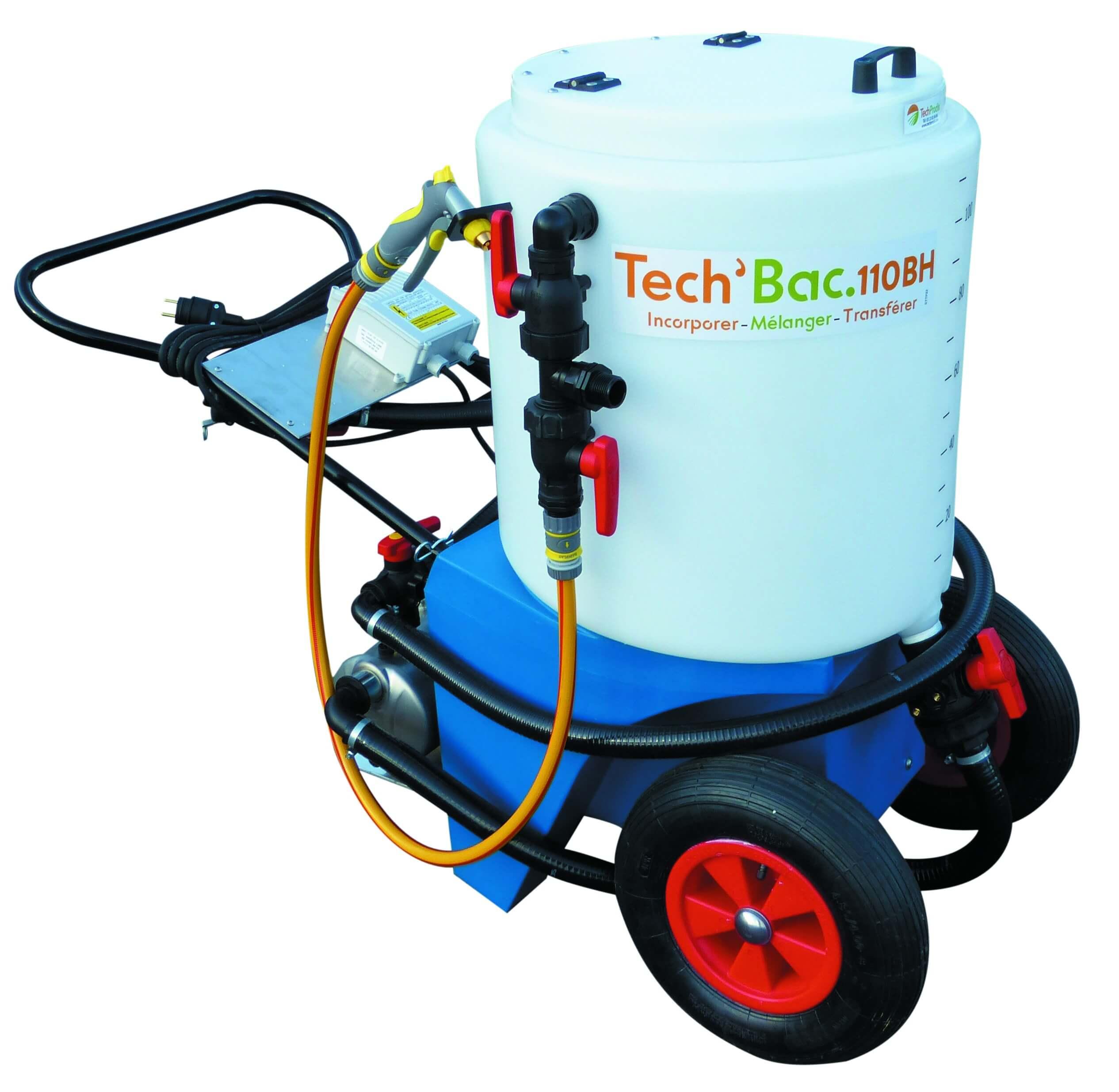 Vignette du produit : Tech'Bac 110BH - Mélangeur pour produits phytosanitaires