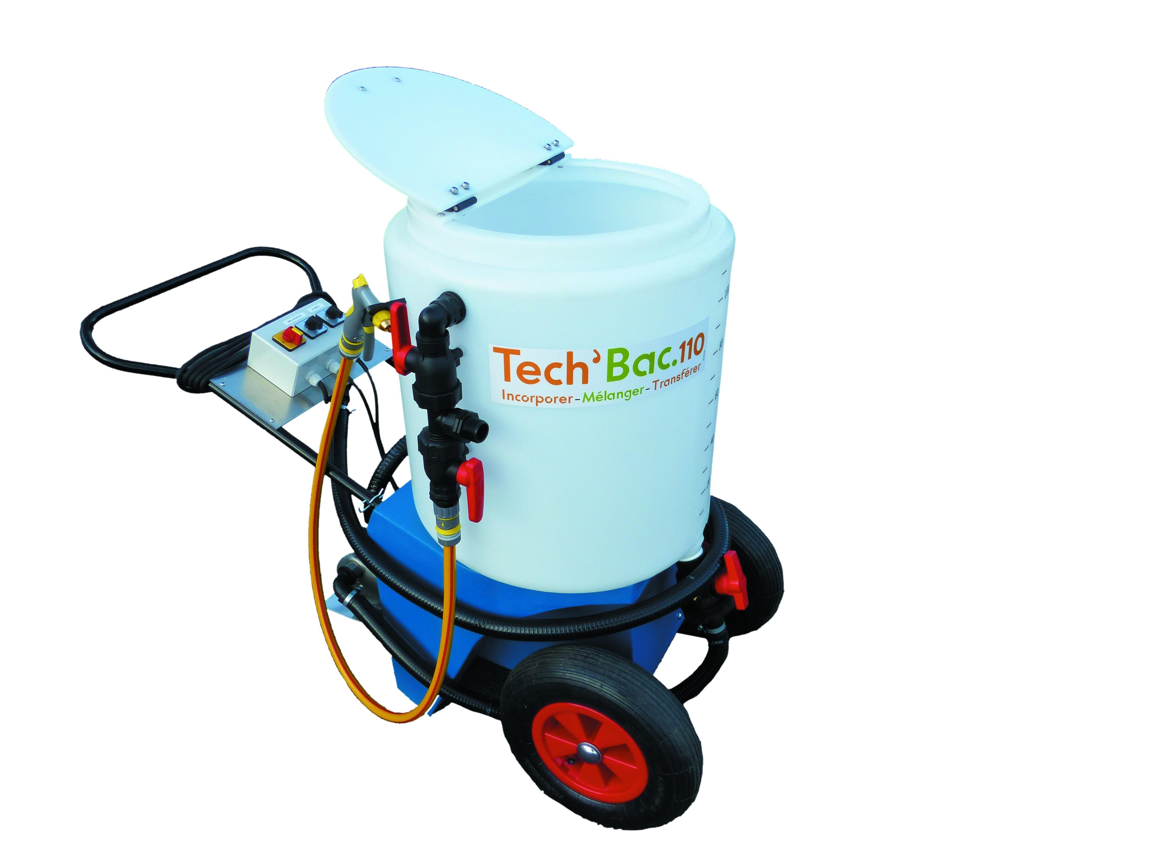 Vignette du produit : Tech'Bac 110 - Mélangeur pour produits phytosanitaires