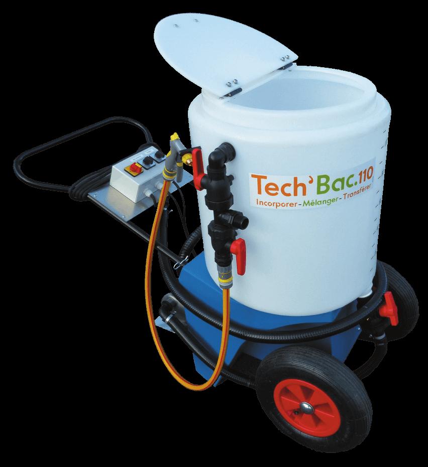Vignette du produit : TECH'BAC 110 - Mélangeur mobile pour produits phytosanitaires